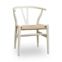 Wishbone Y Chair - White