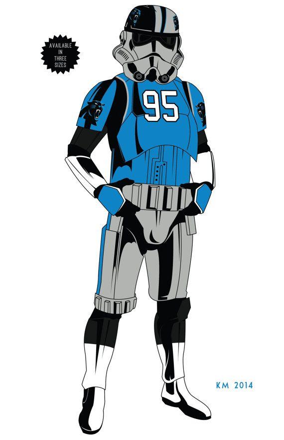 STORM TROOPER Carolina Panthers