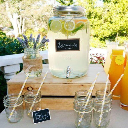 Amazon.co.jp: ヨークシャー メイソンジャー ドリンクディスペンサー  Yorkshire Mason Jar Drink Dispenser: ホーム&キッチン