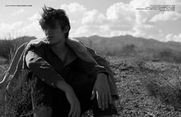 Black Canyon City by Cole Cameron for MALE MODEL SCENE