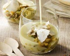 Verrine douceur d'artichaut (facile, rapide) - Une recette CuisineAZ