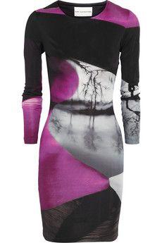 Mary Katrantzou Printed silk-jersey dress | THE OUTNET