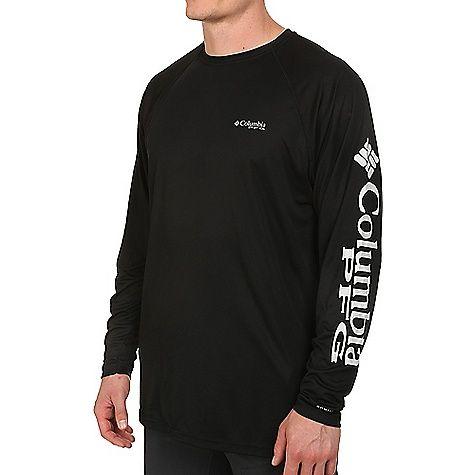 Columbia Men's Terminal Tackle ZERO LS Shirt: FEATURES of the Columbia Men's Terminal Tackle… #snowboarding #rockclimbing #hiking #camping