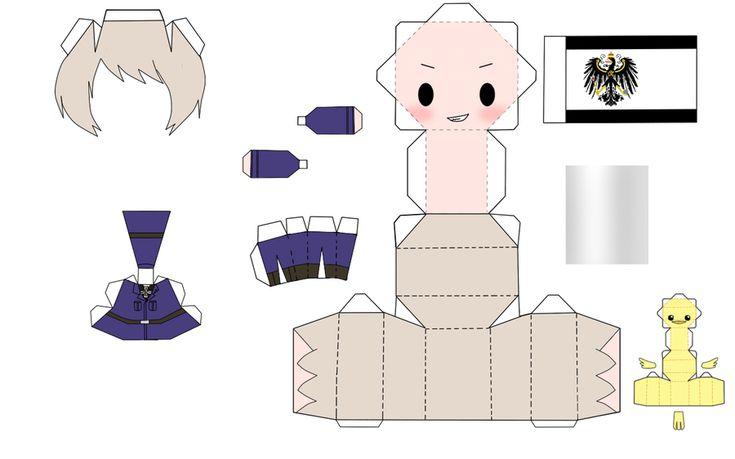 hetalia china papercraft by tsunyandere diy cutouts pinterest wycinanie z papieru fanw i chiny