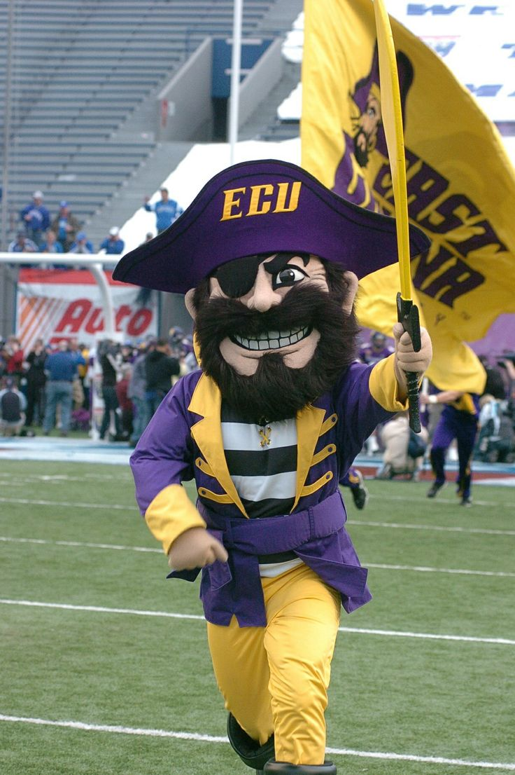 Pee dee pirate from ecu university