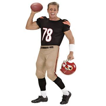 Comprar Disfraz adulto Jugador Futbol Americano Rugby talla M. UK