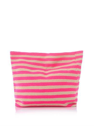 neon summer bag