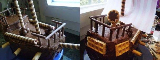 Gâteau pirate 7