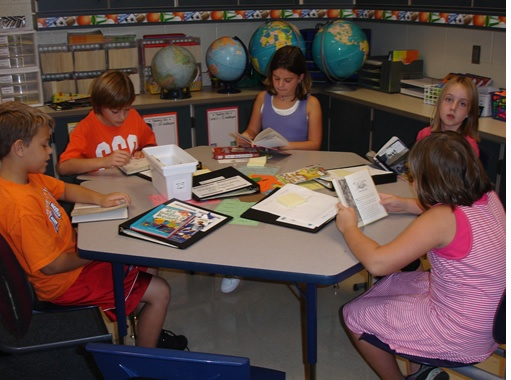Book Clubs/Literature Circles: Great website with ideas and lesson plans.