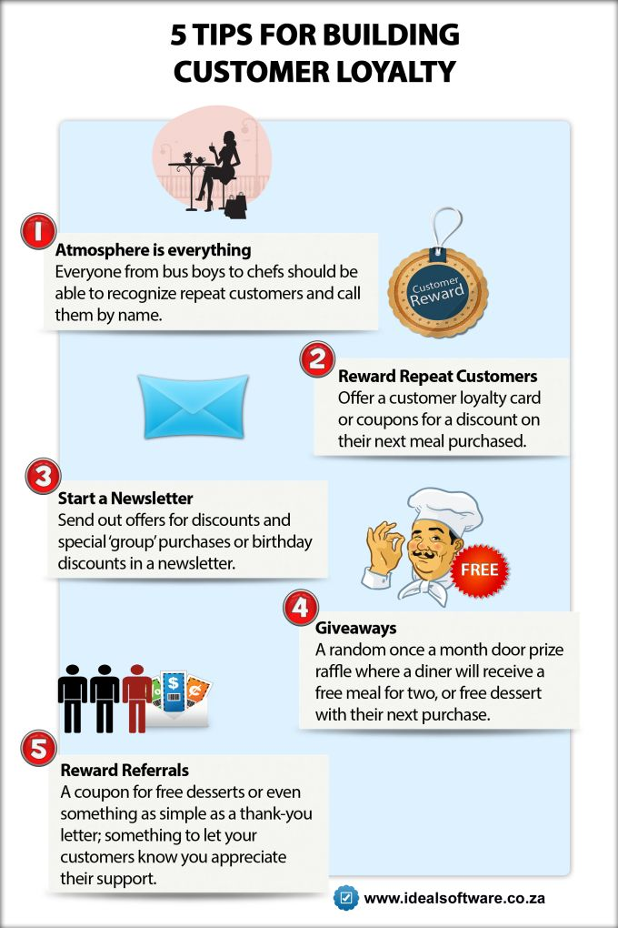 5 Tips for Building Customer Loyalty [INFOGRAPHIC]