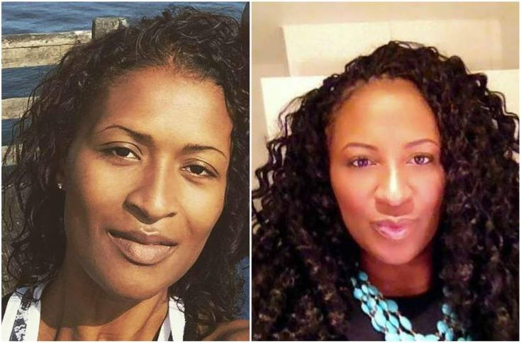 Kobe Bryant's sisters - Sharia Washington (nee Bryant) (Left) and Shaya Bryant-Tabb (right)