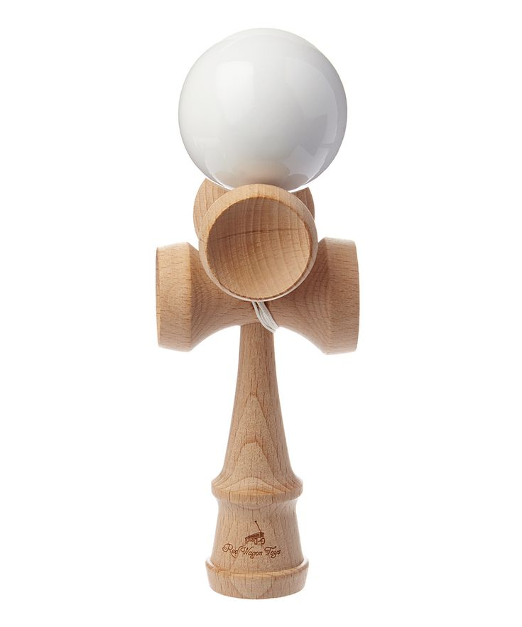 White Five-Cup Kendama Toy