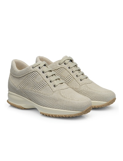 #HOGAN Women's Spring - Summer 2013 #collection: snake print leather INTERACTIVE.