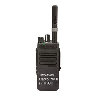 ​Two-Way Radio Pro II (VHF/UHF): http://tinyurl.com/hbxbdmj (Buy/Rent) #SpyGadgetRentals Open 24/7/365! (888) 344-3742 SMS-Enabled  Chat Live With Our Surveillance and Security Equipment Experts! http://goo.gl/Nv7Q13  Life-Time Warranties!