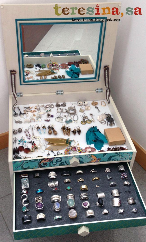 Si tienes que guardar muchas joyas