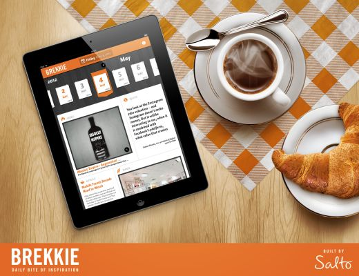 Brekkie: The simple iPad app with daily servings of advertising and design inspiration