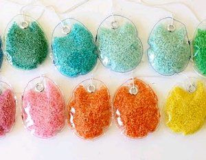 85 best easter sewing projects images on pinterest easter crafts colored rice easter eggs negle Image collections