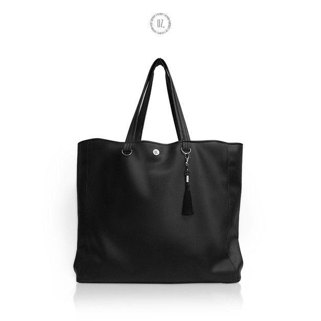 Torba XL PEACE - torba miejska shopper - Bags-of-OZ - Torby na ramię
