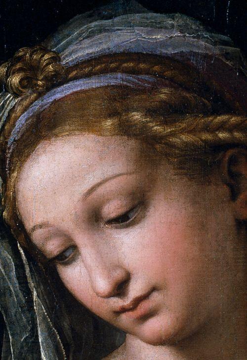 RAPHAEL (Raffaello Sanzio da Urbino) (1483-1520) ~ Madonna of the Rose, 1518-20