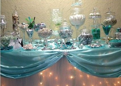 CANDY STATION CANDY BUFFET SWEET CHOCOLATE WEDDING QUINCE CELEBARTION BIRTHDAY