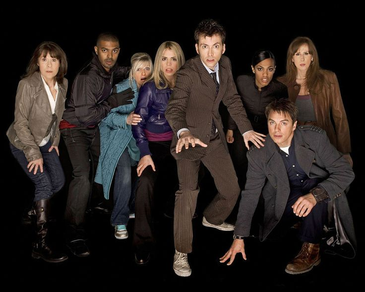 TV Show Doctor Who  Sarah Jane Smith Captian Jack Harkness The Doctor Wallpaper