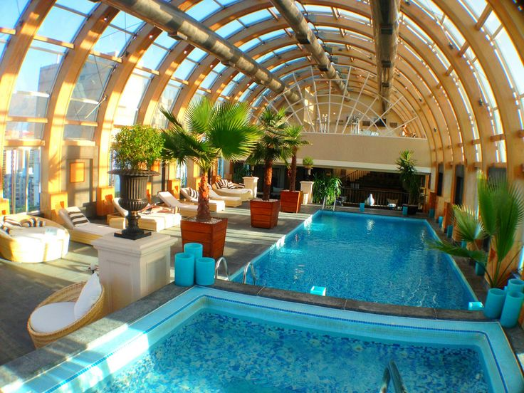 Ritz Carlton Santiago, Chile Rooftop pool