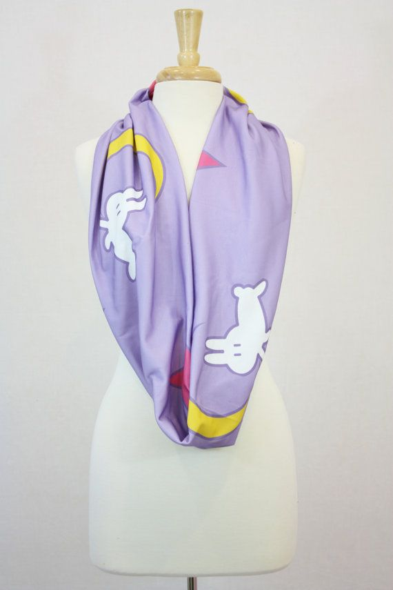 sailor moon moon rabbit infinity scarf wide by