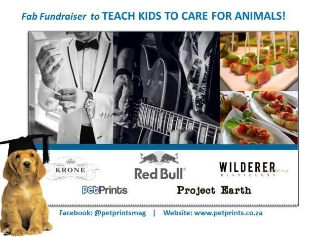 Pet Prints fundraiser Where: Evertsdal Opstal, Corner of Bluegum and Huguenot streets, Durbanville