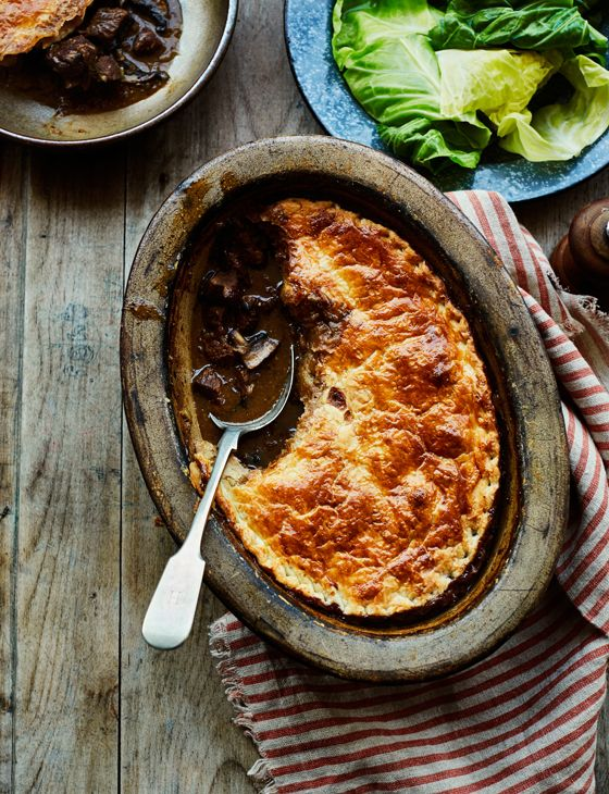 We've upped the comfort food game with our marvellous marmite pie