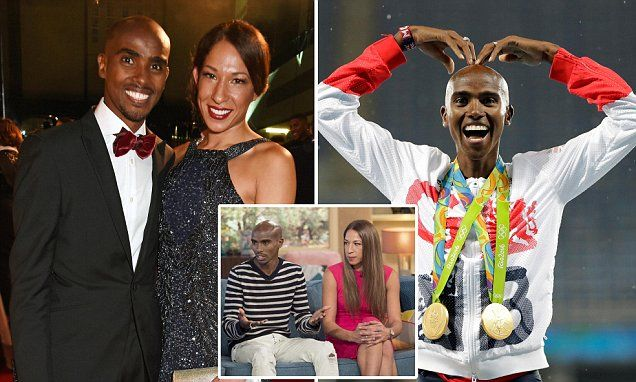 "Mo Farah's wife 'calls airline worker ""f****** pathetic"" in rant"