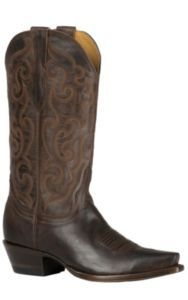 Cavender's by Old Gringo Women's Chocolate Mad Dog Goat Snip Toe Western Boots | Cavender's