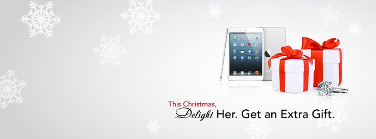 Free gift with purchase at Charlotte jewelers, Downtown Peterborough. Decemeber 2013