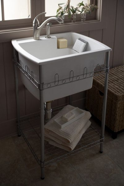 Splash Galleries Sterling 995 U Latitude Laundry Sink And