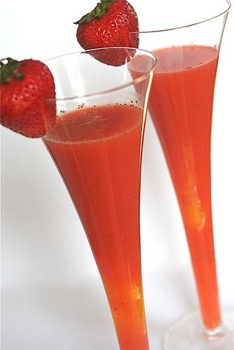 Strawberry OJ