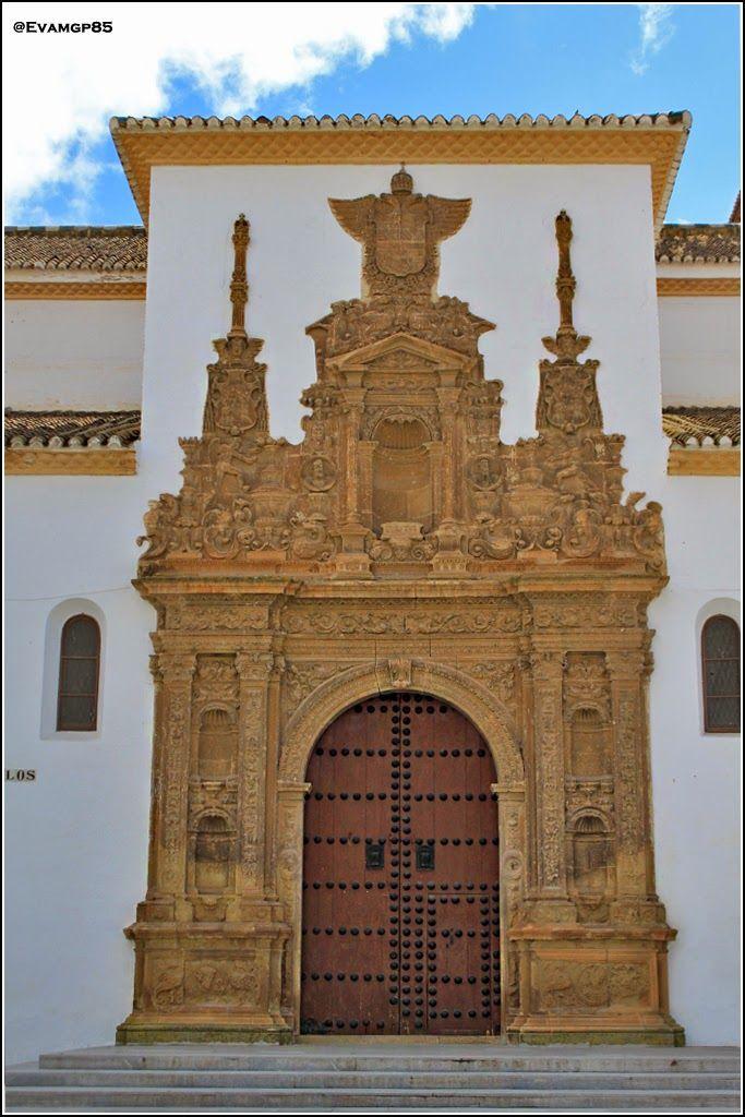 Iglesia y Convento de Santiago, Guadix. Granada.