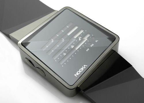 Nooka . innovative watches, all of which maintain their clean, modern design aesthetics.