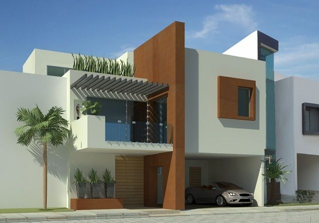 Colores para fachadas de casas modernas casas for Exterior de casas