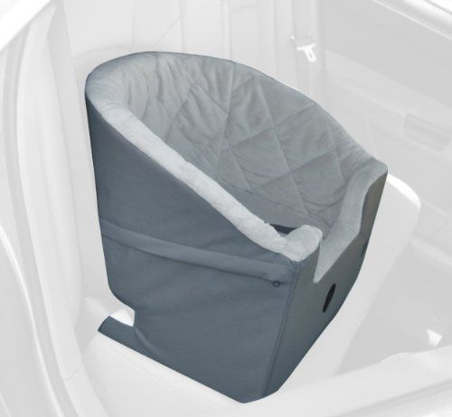 K&H Bucket Booster Pet Car Seat, Small, Gray - http://www.thepuppy.org/kh-bucket-booster-pet-car-seat-small-gray/