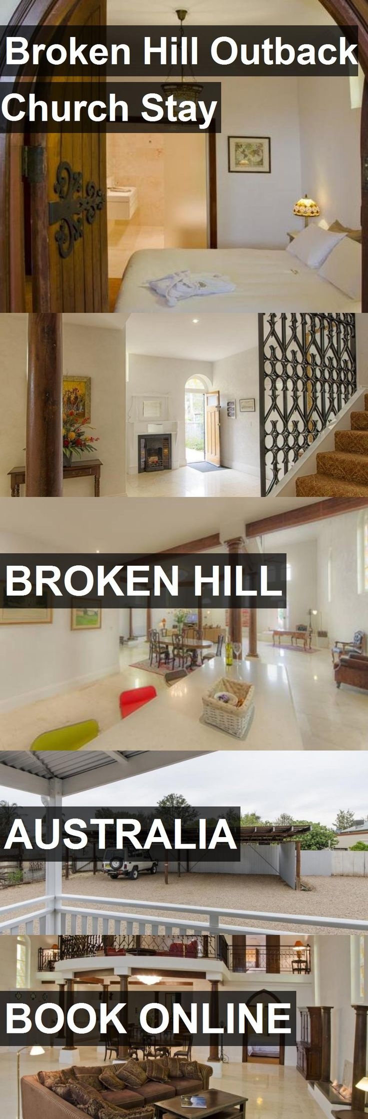 Hotel Broken Hill Outback Church Stay in Broken Hill, Australia. For more information, photos, reviews and best prices please follow the link. #Australia #BrokenHill #travel #vacation #hotel