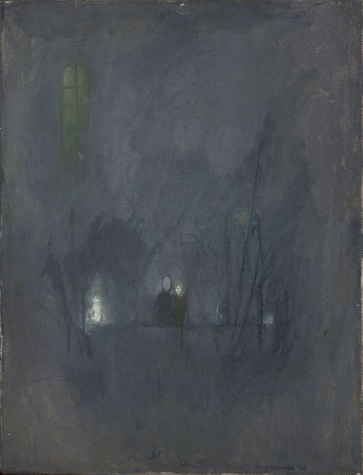 Maria Więckowska, Noc