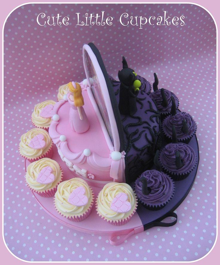 CUPCAKES~Sleeping Beauty & Maleficent