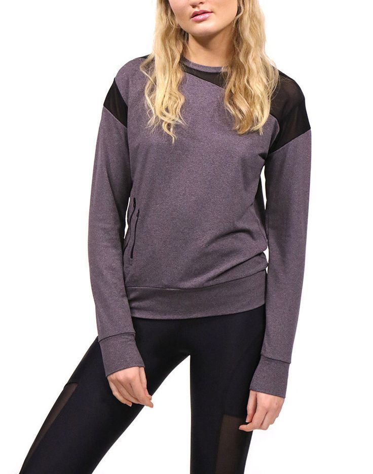 Just uploaded  Acai technical sp... fancy buying or for more info and other beautiful pieces click here: http://timpanys.com/products/acai-technical-sports-jumper-grey-with-black-mesh?utm_campaign=social_autopilot&utm_source=pin&utm_medium=pin