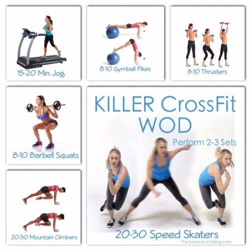Crossfit Workouts: 308 Best Images About Fitness On Pinterest