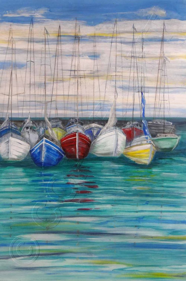 """Moored"" by Angela Wilson"