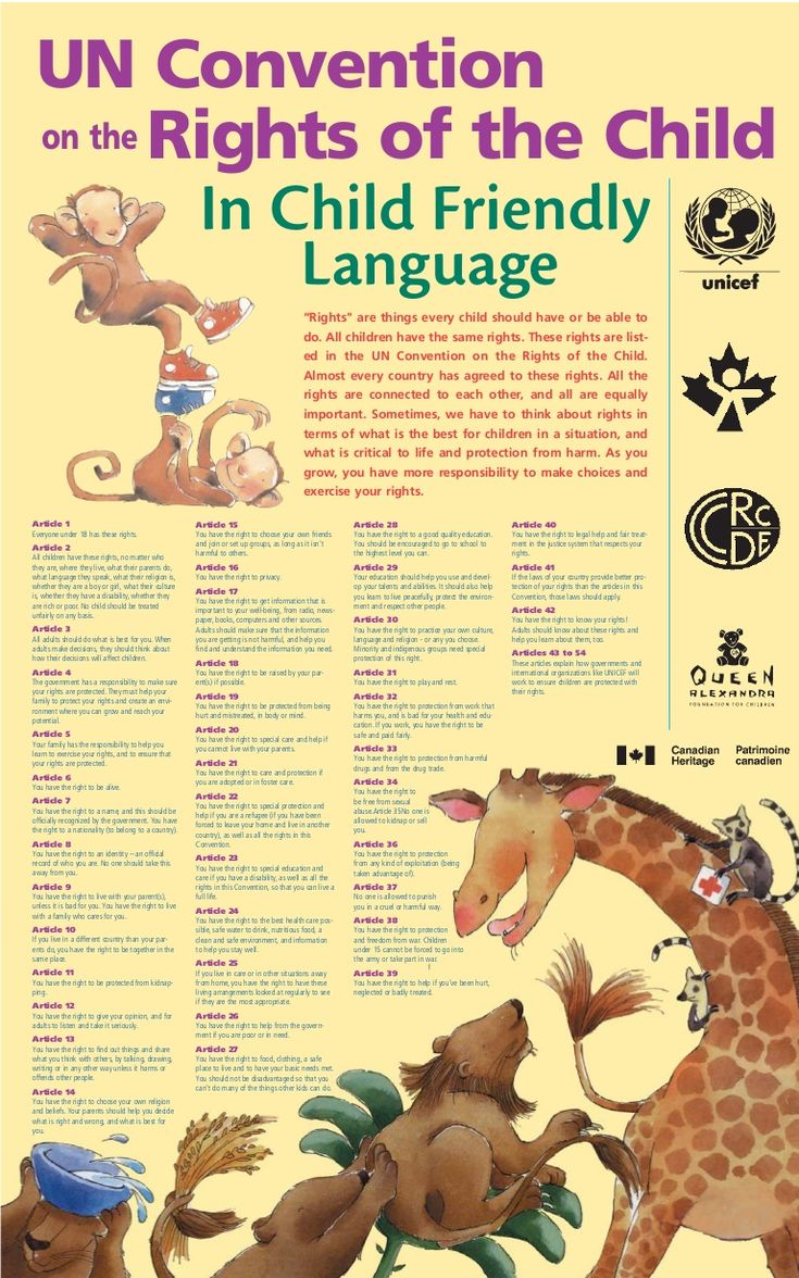 un-convention-on-the-rights-of-the-child-in-child-friendly-language-13905511 by fawhs via Slideshare