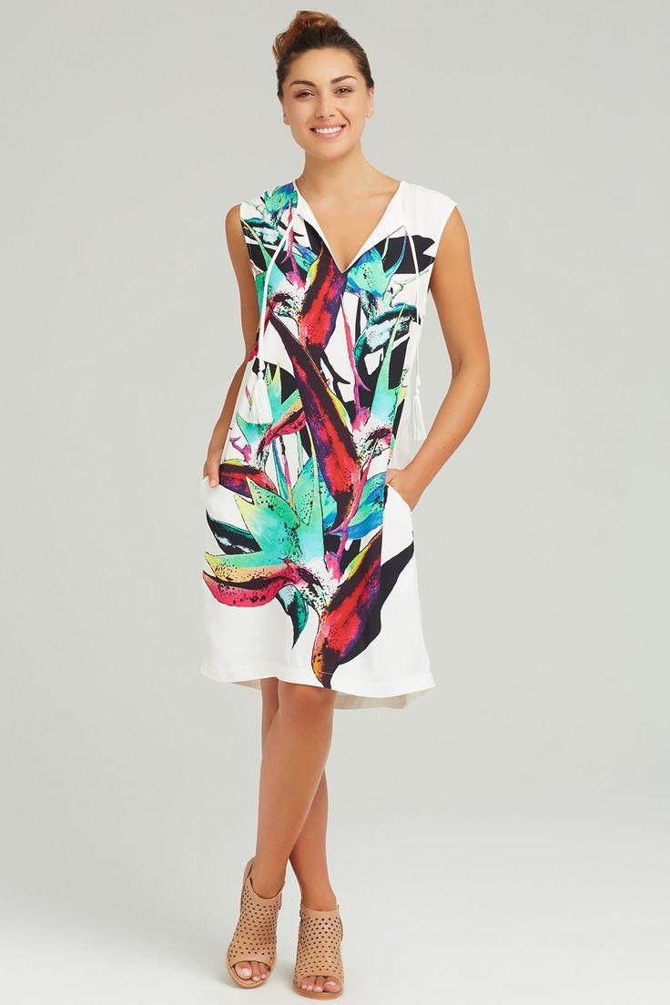 Ping Pong - Paradiso Print Dress