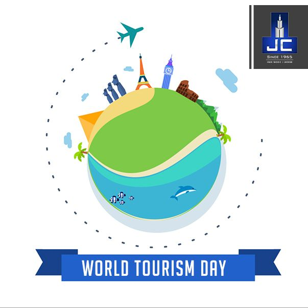 The Journey of  thousand miles begins with a single step. Jaycee Homes wishes everyone a safe travel on the occasion of World Tourism Day.