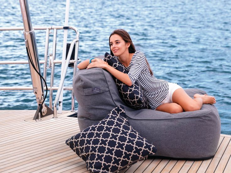 The Isla Collection combines the comfort you expect from the classic Marine Bean with the flexibility of modular furniture. This has been achieved through the development of a unique (patent pending) internal structure, which supports the beanbag, yet remains comfortable and forgiving. #Coastnz #Islachair #Beanbag #Dawsonandco #outdoorfurniture