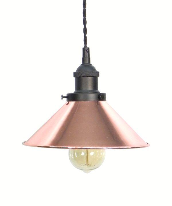 Hoover Industrial Pendant Light: 1000+ Ideas About Copper Pendant Lights On Pinterest