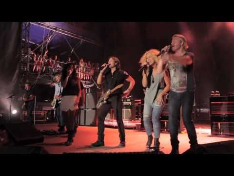 Many collaborations happen on the road including an awesome rendition of You Gonna Fly featuring Keith and Little Big Town!  For more information and tour dates, visit www.KeithUrban.net/Tour